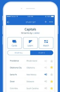 quizlet flashcards app