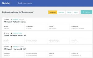 quizlet learn french